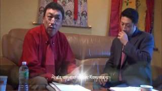 (Tibetan public talk 2011) Interview with Sonam Rinchen  part 2