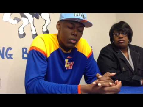 Landry-Walker power forward Blake Paul discusses why he chose to sign with Tulane | Video