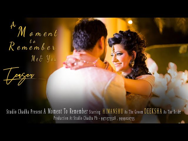 Ring Ceremony Teaser || Himanshu & Deeksha || by Studio Chadha