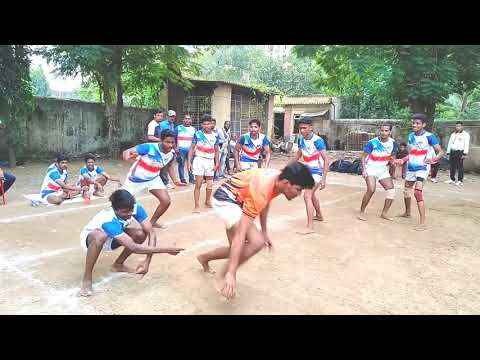 Kabaddi match kbp Degree college(thane) vs Theem Engineering college(palghar)