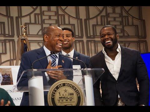 "Mayor, Curtis ""50 Cent"" Jackson, Community Leaders Announce New Program For high school students"