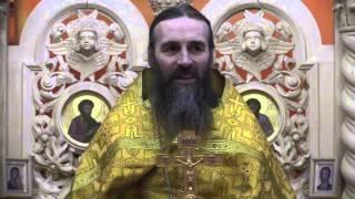 Проповедь отца А.Захарова в неделю 30-ю (4.01.2014)