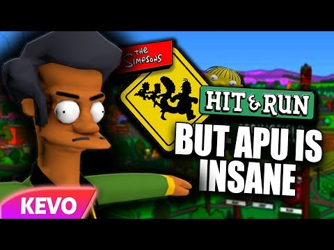 Simpsons Hit And Run but Apu is insane