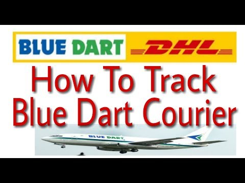 Blue Dart courier tracking Online Using Waybill No. & Reference No.