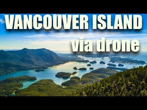 Vancouver Island via drone vol 1.