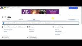 Anleitung: Bankkonto bei eBay ändern für Überweisungen von Käufern