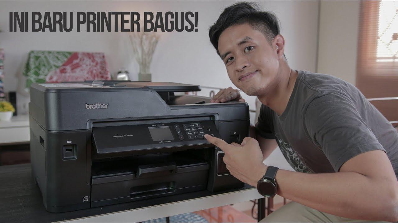 Printer Paling Keren Yang Pernah Saya Pakai Brother Mfc T4500dw Youtube