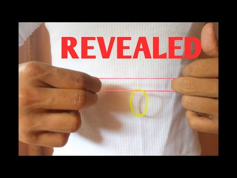 BEST Rubber Band Real Linking And Unlinking Trick REVEALED