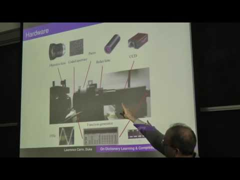 Video Compressive Sensing, by Prof. Larry Carin