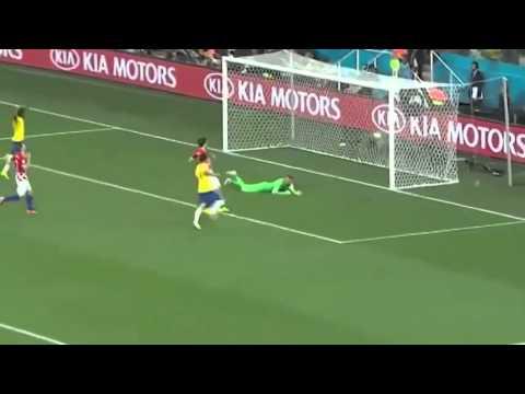 Brazil vs Croatia 3 - 1 All Goals World Cup 2014