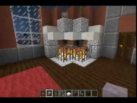 Minecraft Let 39 S Build Furniture Diagonal Fireplace Youtube