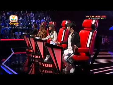 The voice Cambodia Season 2   Blind Audition   Lady   She's Gone   សោម សៅសុវណ្ណា   Som Sovana