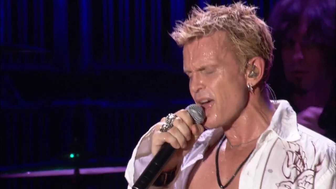 Billy Idol - Eyes Whitout Face (Live) (2009) [HD]
