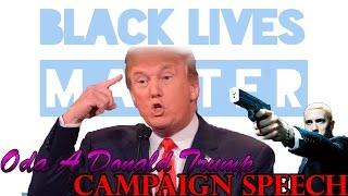 Eminem canta rap a Donald Trump y otros problemas de EEUU/ Campaign Speech/ Discurso de campaña