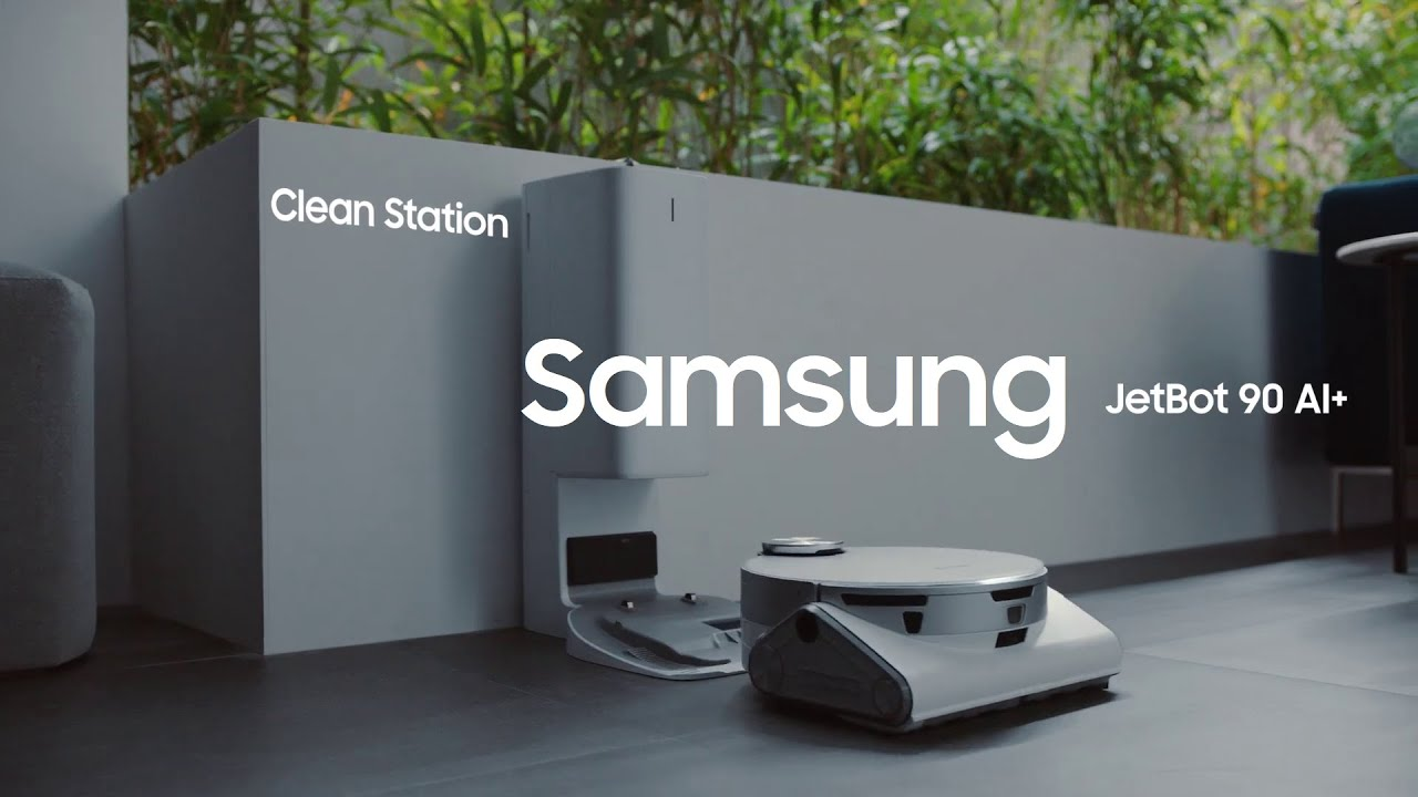 Samsung JetBot 90 AI+ Clean Station - YouTube