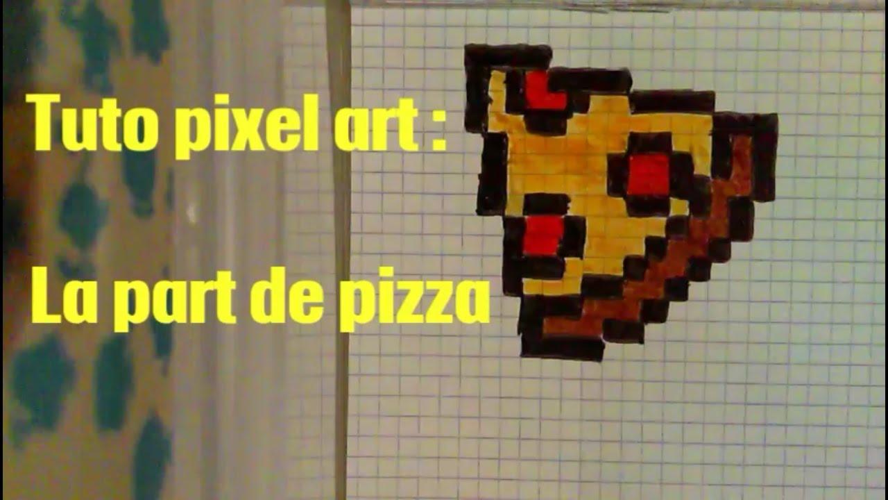 Tuto Pixel Art N6 La Part De Pizza Youtube En