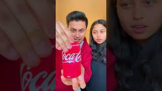 Amazing Coke Magic Trick #Shorts