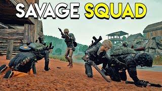 SAVAGE SQUAD - PUBG (Highlights)