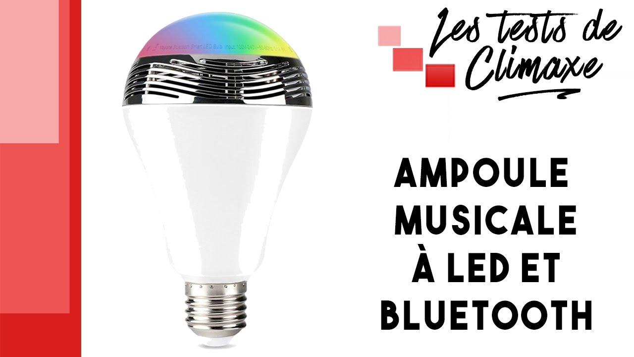 Musicale À D'une Test 1byone Contrôlable Bluetooth Ampoule Led Par PTZiOXku