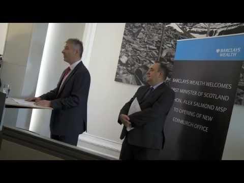 Barclays Wealth's new Edinburgh office