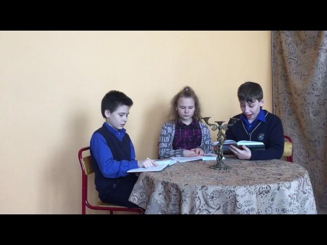Изображение предпросмотра прочтения – «Пятиклассники» представляют буктрейлер кпроизведению «Хирургия» А.П.Чехова