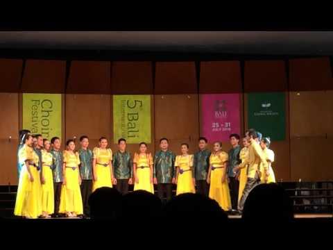 Pangasinan State University Caboloan Chorale, 5th Bali Intl Choir Festival, Denpasar,Bali, Indonesia