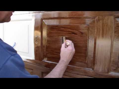 Faux Wood Garage Door The Right Way Youtube