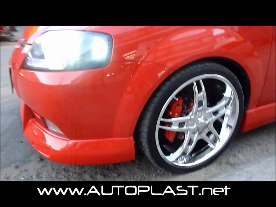 Body Kit Chevrolet Aveo GTI AutoPlast - YouTube