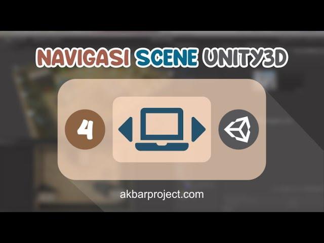 Tombol Navigasi Antar Scene di Unity3D | Tutorial Unity3D untuk Pemula Eps. 4
