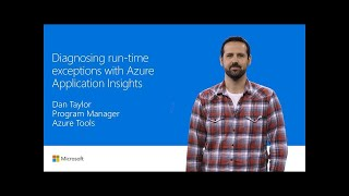 Find and diagnose runtime exceptions with Azure Application Insights | T250