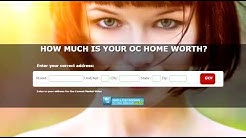 Orange County House Values Home Valuation Calculator