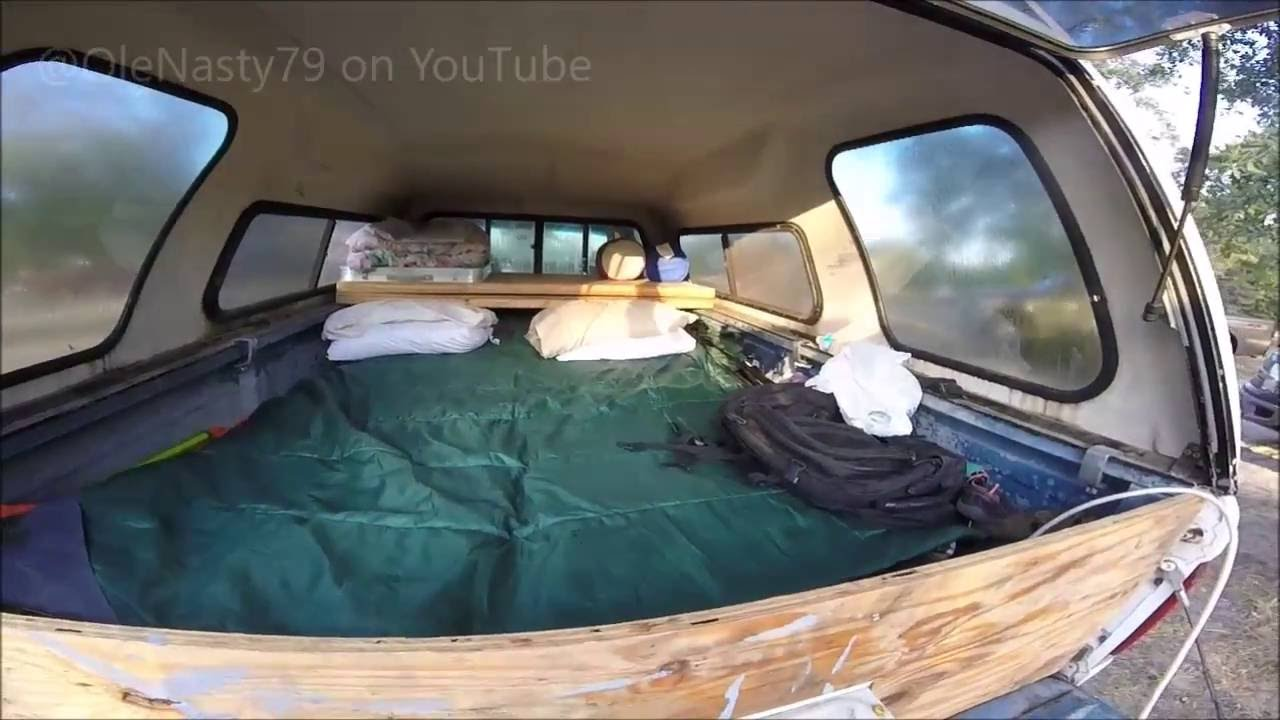 Perfect Truck Camping Setup with AC  YouTube