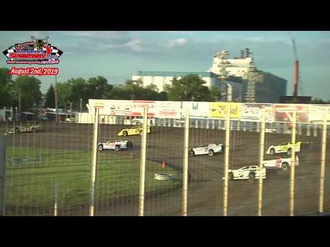 River Cities Speedway WISSOTA Late Model Heats (8/2/19)