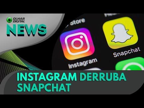 Instagram Stories já é mais popular que o Snapchat | OD News 13/04/2017