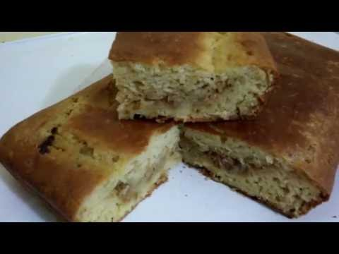 Рецепт Быстрый пирог с капустой(пышный и воздушный 2 вида теста)