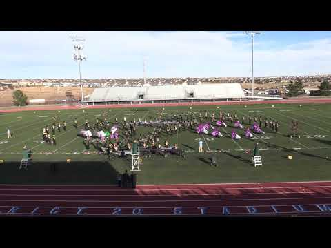 Canon City High School CBA Regionals Marching Band Show