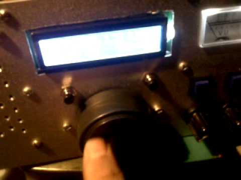 AD9850 Arduino Uno, Direct Conversion Receiver test  NE602 and LM386 by  Alejandro Weber