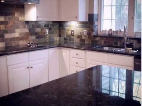 subway tiles in kitchen aristokraft cabinets charlotte nc granite countertops-peacock granite-white ...
