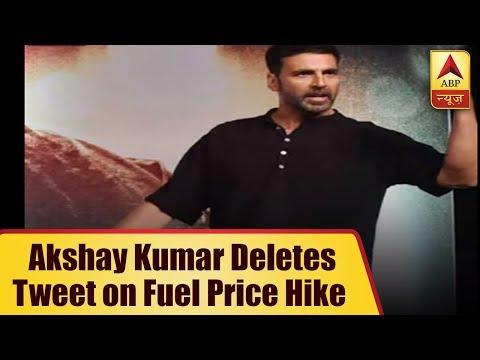 Akshay Kumar DELETES his old tweet on rising petrol prices