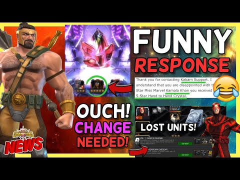 Funny Response By Kabam Support About H2H Crystal | Arena Changes | Hercules Animations & More [MCN]