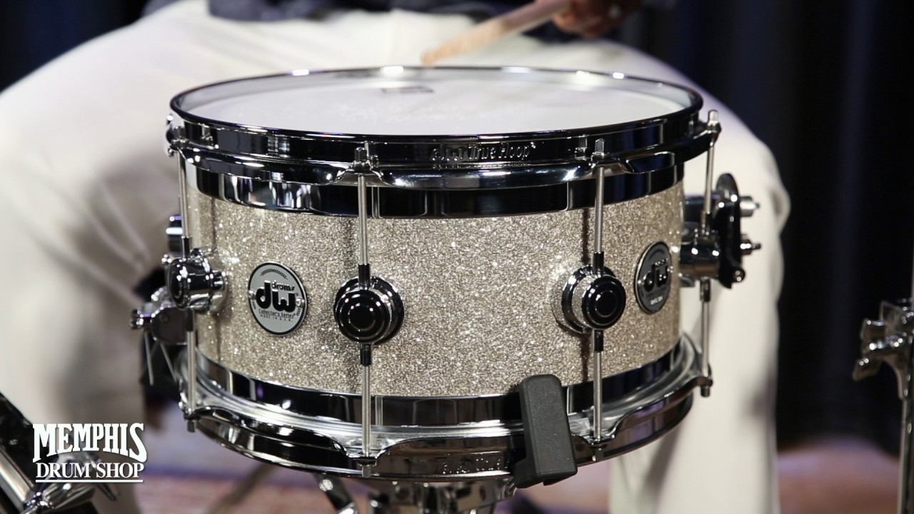 Dw Shop Dw 13x7 Collector S Series Edge Snare Drum Broken Glass