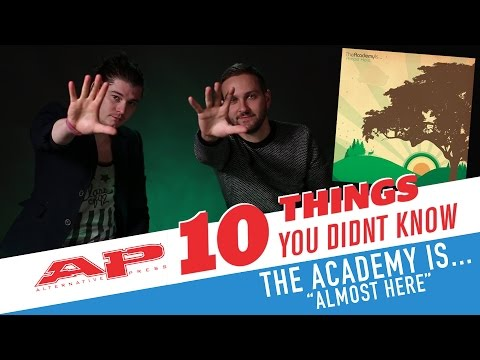 THE ACADEMY IS...: 10 things you didn't know about 'Almost Here'