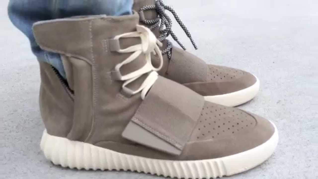 2016aafdf4c Yeezy 750 Boost lace comparison - YouTube