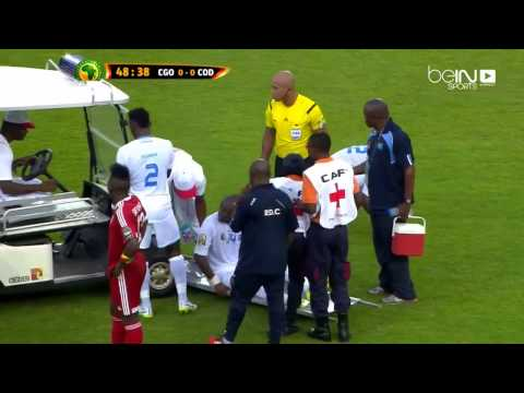 "Epic! The Medical cart driver during Congo vs Congo DR! ""thug life video"""