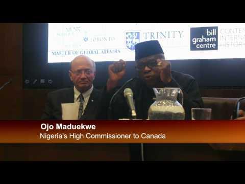 OJO MADUEKWE @ THE MONK SCHOOLOF GLOBAL AFFAIRS TORONTO