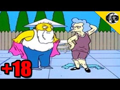 Chistes para adultos en Los Simpsons | Escenas eliminadas