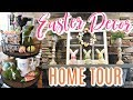 EASTER 2019 HOME DECOR TOUR + DECORATE WITH ME | Cook Clean And Repeat