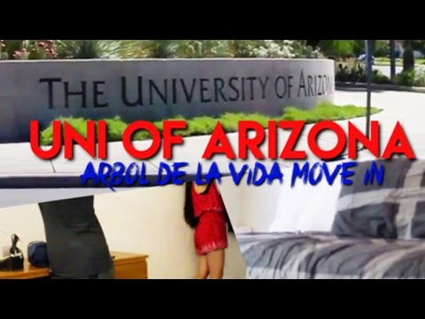 UNIVERSITY OF ARIZONA MOVE IN + DORM TOUR