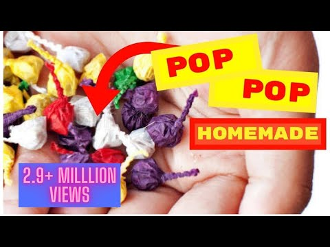 How To Make Pop Pop Cracker- Diwali Fun
