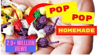 How to make pop pop cracker